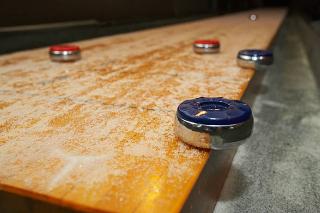 SOLO® Shuffleboard Movers Port Townsend, Washington.